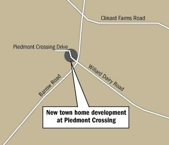 Keystone Group is resurrecting plans for Piedmont Crossing as it plans to build 160 town homes in north High Point.