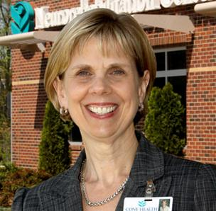 Anne Macner is the vice president and service line administrator for neurosciences, orthopedics and rehabilitation at Cone Health in Greensboro.