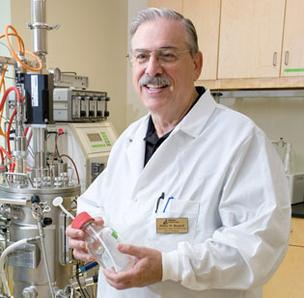 Bill Woodruff is department head of biotechnology at Alamance Community College
