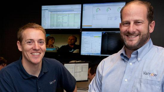Varrow Inc. founders Dan Weiss, right, and Jeremiah Cook have, for the second consecutive year, led their Greensboro firm to be the Triad's fastest-growing private company.