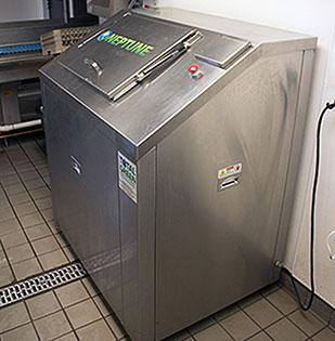 """The Greensboro branch of Waste Industries Inc. recently installed its first """"Food Waste Digester"""" in the Triad at Guilford College."""