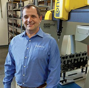 Rick Powell is president of PEMMCO Manufacturing Inc. in Asheboro.