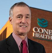 Tim Rice, CEO, Cone Health. Career: Chief operating officer, Cone Health (2001-2004); executive vice president, The Moses H. Cone Memorial Hospital (1997-2001) Why watch him: Managing one of the Triad's largest health care systems, Rice will oversee the expected completion of the merger with Alamance Regional Medical Center, cut the ribbon on the newly completed $200 million North Tower expansion at Cone Hospital, and leverage benefits from the first full year of Cone Health's management agreement with Carolinas HealthCare System in Charlotte. Read the story.