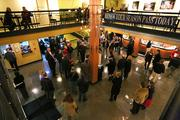 Theater goers wait for a show to begin recently at Triad Stage in Greensboro.