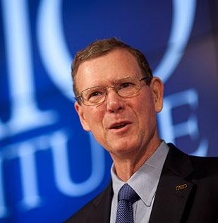 John Allison, president of the Cato Institute is still at home in the Triad, but his new job in Washington, D.C., will put him at the front lines of the national political debate in 2013.