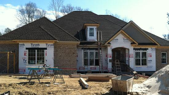 Home builders are expressing confidence.