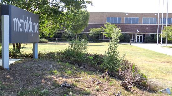 The former Metaldyne plant in Rock Creek Center will head to auction for  a second time in less than two months as its owner searches for an  investor or user interested in the 218,000-square-foot manufacturing  facility.