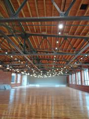 The facility includes a 7,000-square-foot event space, left, on the third floor.