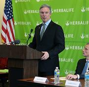 Richard Goudis, chief operating officer for Herbalife, said North Carolina officials made a strong case for locating the company's first major East Coast manufacturing site in Winston-Salem.