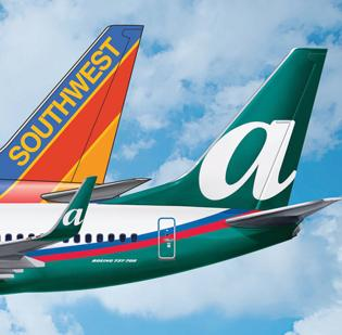 The FAA has given Southwest Airlines and AirTran a single operating license.