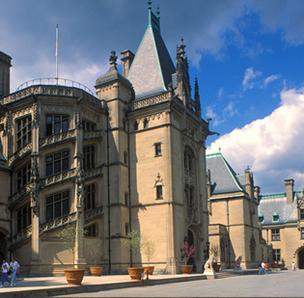 Biltmore House in Asheville is a popular North Carolina attraction.