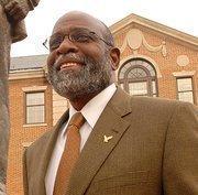 Charlie Nelms, chancellor, N.C. Central University