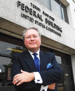 George Holding is stepping down as U.S. Attorney for the Eastern District of North Carolina.