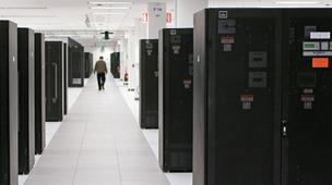 IBM's data center inside Research Triangle Park.