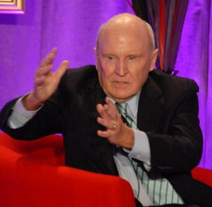 Jack Welch spoke in Raleigh on Thursday.