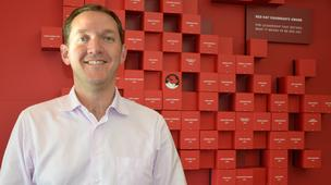 Jim Whitehurst is the CEO at Raleigh-based Red Hat.