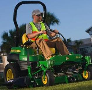Deere & Co. makes agriculture and lawn equipment.