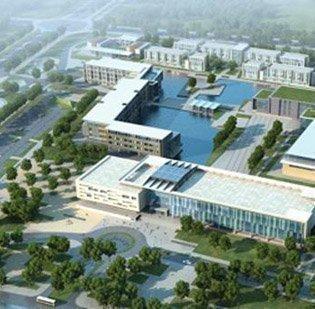 Rendering of the Duke Kunshan University in China.