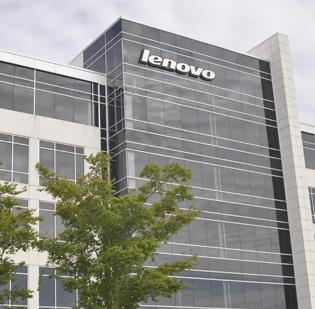 Lenovo's North American operations in Morrisville.