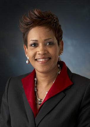 Machelle Sanders, vice president of manufacturing and general manager of Biogen