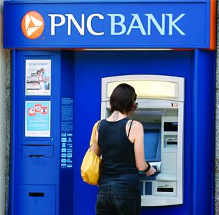 PNC is the third-largest bank in the Baltimore area.
