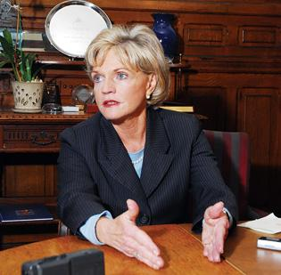 Gov. Beverly Perdue has pounded the subject of job creation.