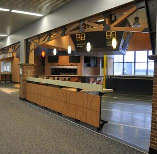 A new sports bar will be featured in Terminal 1.