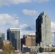 #6: Wake County (Picture of Raleigh skyline)Average Salary: $47,229Growth (2008-2011): 1.7%