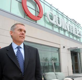 Quintiles CEO Tom Pike praised the company's 27,000 employees around the world.