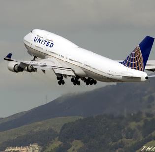 In January, United Airlines scored its best combined domestic and international on-time arrival performance in a decade.