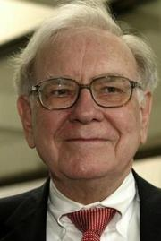 Warren Buffett owns a $5 billion stake in Bank of America.