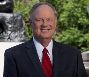 University of Louisville President James R. Ramsey.
