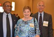 Howard Manning, Marilyn Faber and Alger Faber with Dorcas Ministries, Christian Community in Action were attendees at the 2012 CFO Awards.