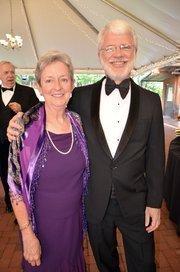 Pat and Stan Young enjoy the North Carolina Symphony's 80th anniversary gala.