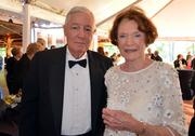 Frank and Ella Ann Holding enjoy the North Carolina Symphony's 80th anniversary gala.