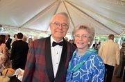 Bob and Joan Allen enjoy the North Carolina Symphony's 80th anniversary gala.