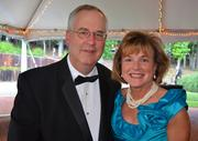 Joe and Lynn McLeod enjoy the North Carolina Symphony's 80th anniversary gala.