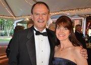 Thorne and Katrina James enjoy the North Carolina Symphony's 80th anniversary gala.