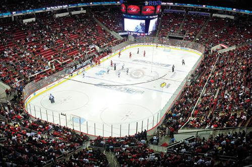 Hockey players will soon have new locker rooms at the PNC Arena.