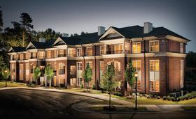 Auctioneers are gearing up to sell a dozen townhouse units in the Ramblewood at North Hills neighborhood.
