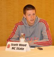 NCSU's Scott Wood likes the bigger feel of the RBC Center.