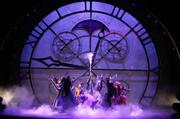 The stage is an elaborate assembly of gears, cogs and lots more, but ever wonder what it takes to get the stage looking like a work of art?