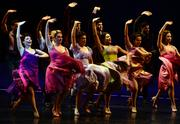 """The stage comes to life in the performance of """"Dance at the Gym."""""""