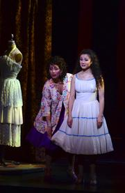 Anita and Maria work in a bridal shop in the musical, West Side Story.