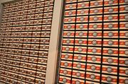 A wall of chocolate – even more than Augustus Gloop can devour!
