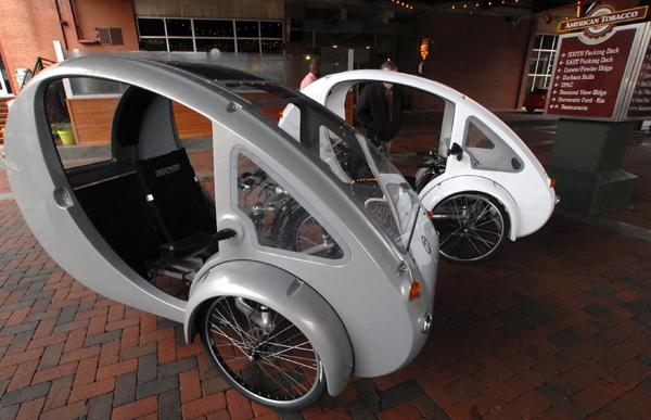 Organic Transit's bike hybrid is here. In the next 90 days, the Durham-based company has pledged to deliver 75 units.