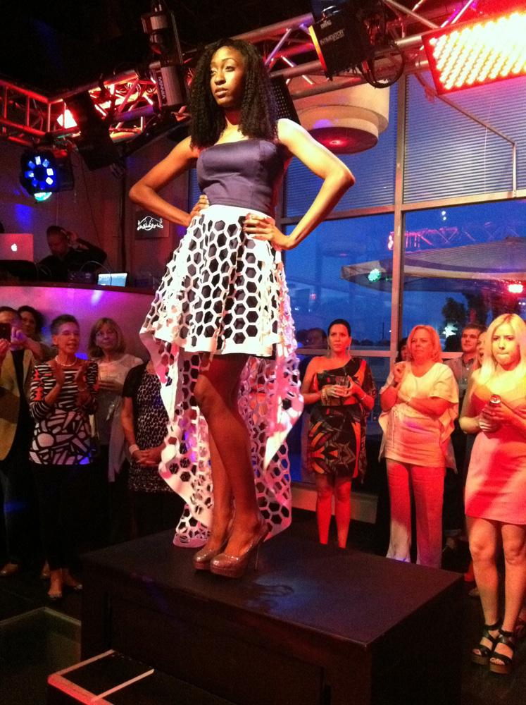 New fashion accelerator REDii launched with a fashion show at Solas on Wednesday night.