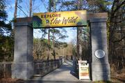 """Animals such as black bears, red wolves, several different species of ducks and some ringtail lemurs await you inside the """"Explore the Wild"""" section."""