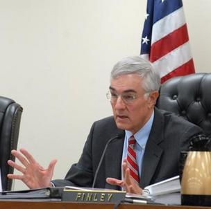 Ed Finley presided over N.C. Utilities Commission hearings last year into Duke Energy's purchase of Progress Energy and its abrupt ouster of Progress chief Bill Johnson as CEO of the merged company.