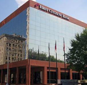 Raleigh-based First Citizens is the sixth-largest bank in the Charlotte area, based on local deposits of more than $1.5 billion. It operates 45 branch offices in the area.